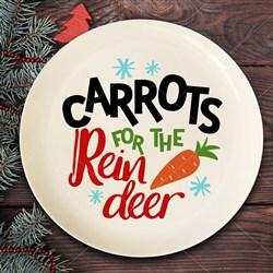 Reindeer Carrots print art
