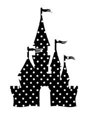 Polka Dot Magic Kingdom print art