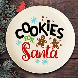 Cookies For Santa print art