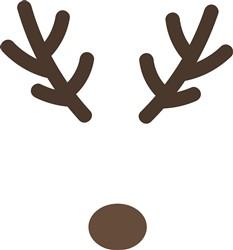 Reindeer Antlers print art
