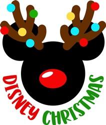 Disney Christmas print art