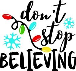 Dont Stop Believing print art