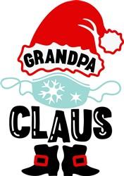 Grandpa Claus print art