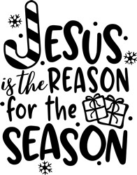 Jesus Reason For The Season print art
