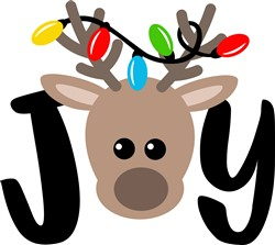 Reindeer Joy print art