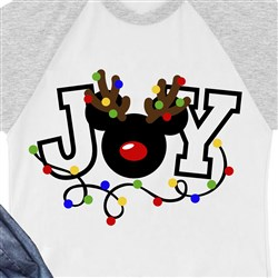 Mickey Mouse Christmas Joy print art