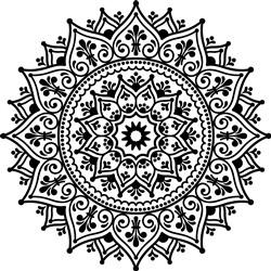 Amazing Mandala print art