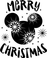 Merry Disney Christmas! print art