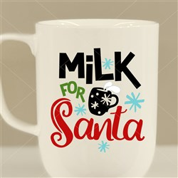 Milk For Santa print art