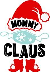 Mommy Claus print art