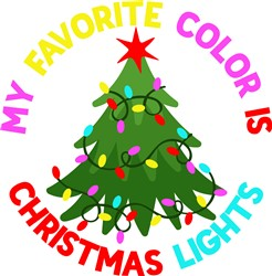 Christmas Lights print art