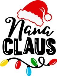 Nana Claus print art