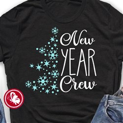 New Year Crew print art