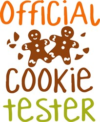 Official Cookie Tester print art