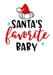 Santas Favorite Baby print art