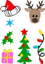 Miscellaneous Christmas Items print art