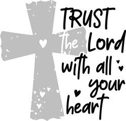 Trust The Lord print art
