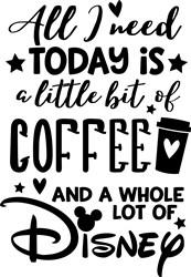 Coffee & Disney print art