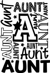 Aunt print art