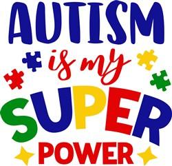 Autism Super Power print art