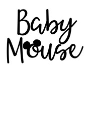 Baby Mouse print art