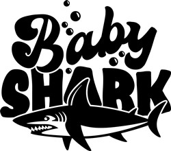 Baby Shark print art