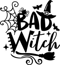 Bad Witch print art