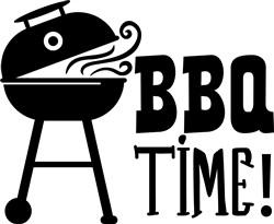 BBQ Time print art
