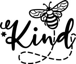 Bee Kind print art