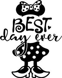 Best Day Minnie print art