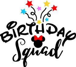 Birthday Squad print art