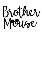 Brother Mouse print art