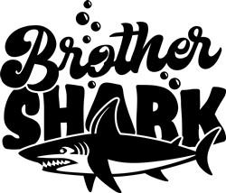 Brother Shark print art