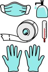 Medical Supplies print art