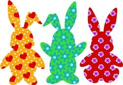 Bunny Rabbits print art