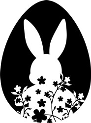 Bunny Egg print art