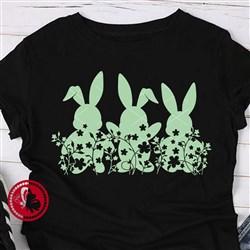 Easter Rabbits print art