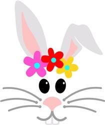 Bunny Head print art