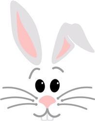 Rabbit Head print art