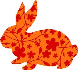 Flower Hare print art