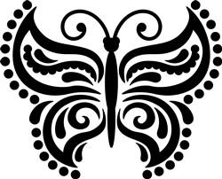 Butterfly print art