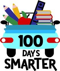 100 Days Smarter print art