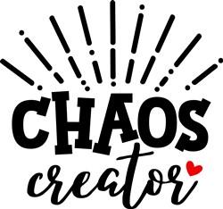 Chaos Creator print art