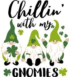 Chillin With Gnomies print art