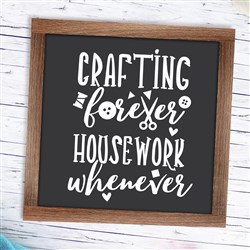 Crafting Forever print art