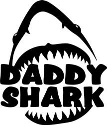 Daddy Shark print art