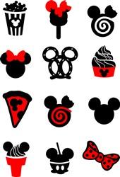 Disney Foods print art