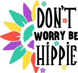 Be Hippie print art