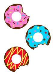 Donuts print art