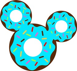 Mickey Donut print art